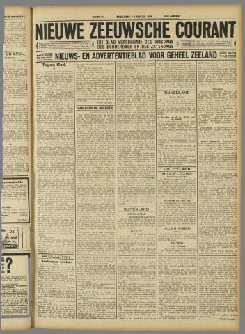 Nieuwe Zeeuwsche Courant 1928-08-09