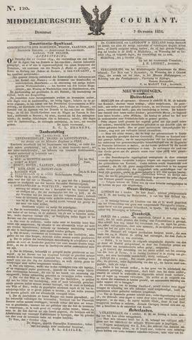 Middelburgsche Courant 1834-10-07