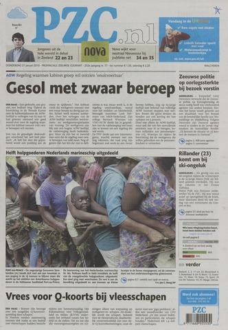 Provinciale Zeeuwse Courant 2010-01-21