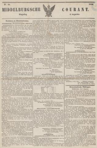 Middelburgsche Courant 1850-08-06