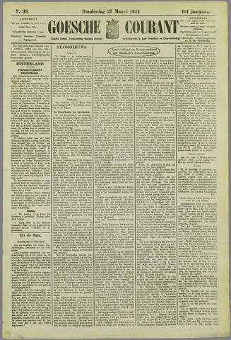 Goessche Courant 1924-03-27