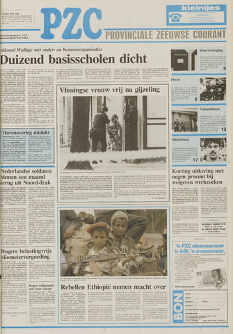 Provinciale Zeeuwse Courant 1991-05-29