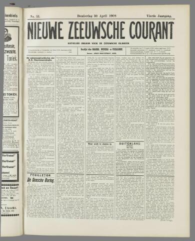 Nieuwe Zeeuwsche Courant 1908-04-30
