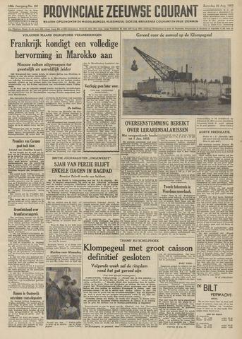 Provinciale Zeeuwse Courant 1953-08-22