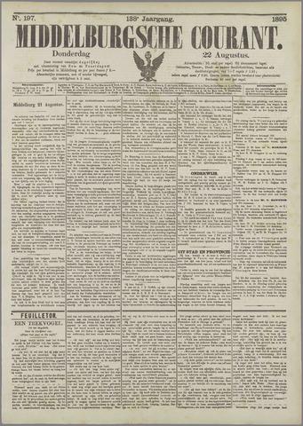 Middelburgsche Courant 1895-08-22