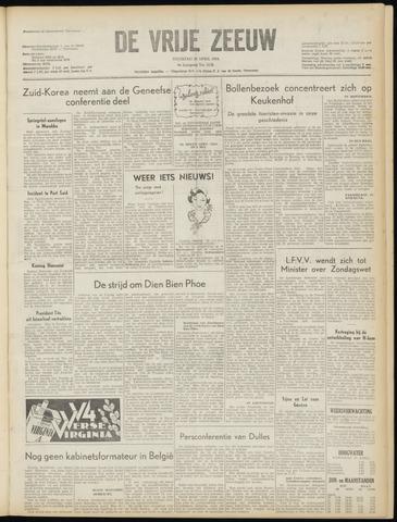 de Vrije Zeeuw 1954-04-20