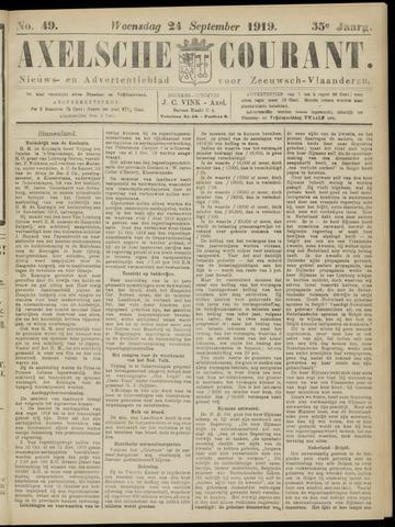 Axelsche Courant 1919-09-24