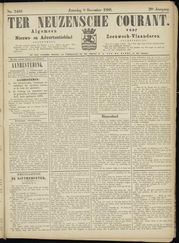 Ter Neuzensche Courant. Algemeen Nieuws- en Advertentieblad voor Zeeuwsch-Vlaanderen / Neuzensche Courant ... (idem) / (Algemeen) nieuws en advertentieblad voor Zeeuwsch-Vlaanderen 1888-12-08