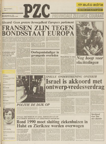 Provinciale Zeeuwse Courant 1978-11-22