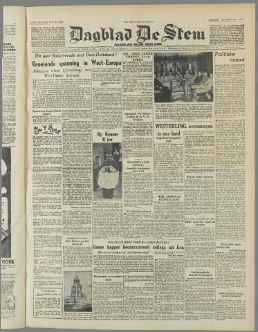 de Stem 1950-08-22