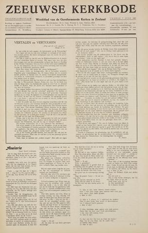 Zeeuwsche kerkbode, weekblad gewijd aan de belangen der gereformeerde kerken/ Zeeuwsch kerkblad 1957-06-07