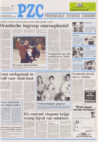 Provinciale Zeeuwse Courant 1990-12-20