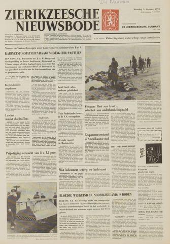 Zierikzeesche Nieuwsbode 1973-02-05