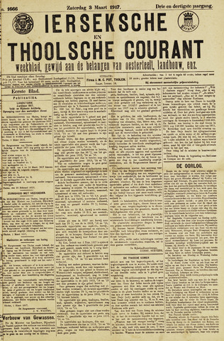 Ierseksche en Thoolsche Courant 1917-03-03