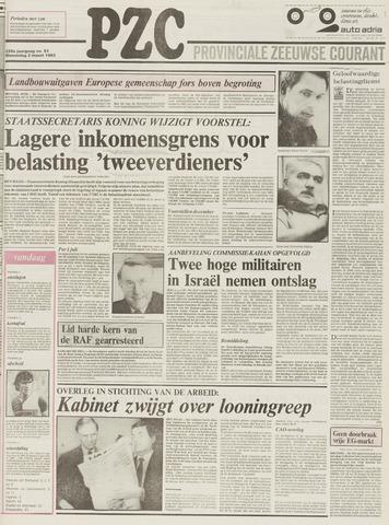 Provinciale Zeeuwse Courant 1983-03-02