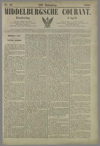 Middelburgsche Courant 1888-04-05