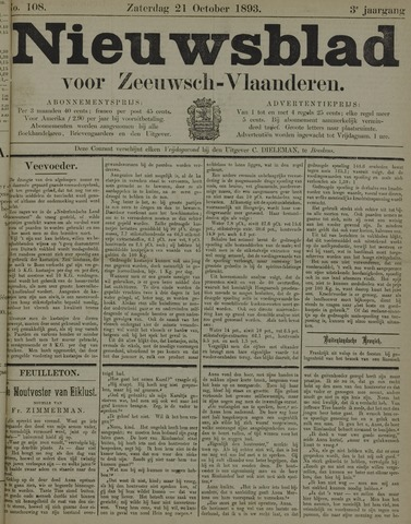 Nieuwsblad voor Zeeuwsch-Vlaanderen 1893-10-21