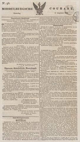 Middelburgsche Courant 1832-08-11