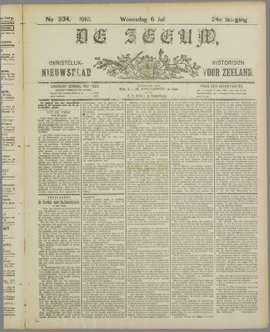 De Zeeuw. Christelijk-historisch nieuwsblad voor Zeeland 1910-07-06