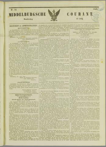 Middelburgsche Courant 1847-07-15