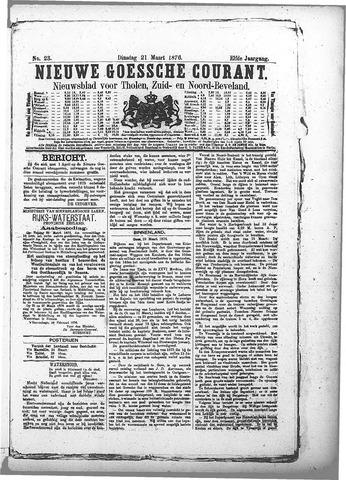 Nieuwe Goessche Courant 1876-03-21