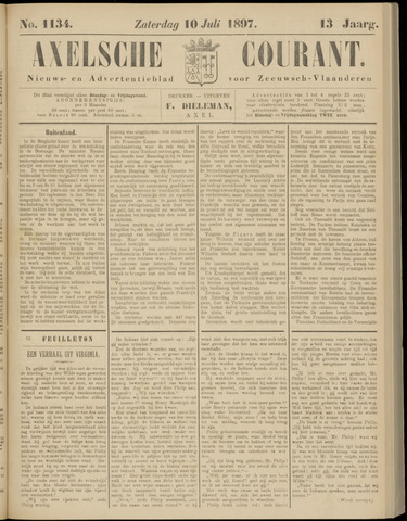 Axelsche Courant 1897-07-10
