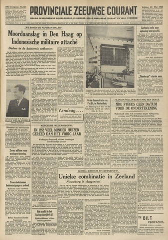 Provinciale Zeeuwse Courant 1952-05-23