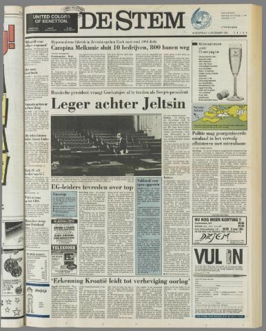 de Stem 1991-12-12