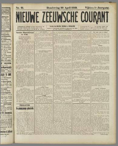 Nieuwe Zeeuwsche Courant 1919-04-10