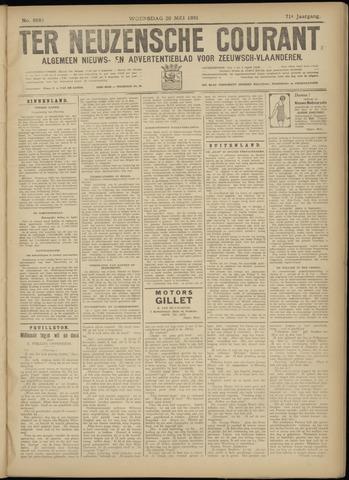 Ter Neuzensche Courant. Algemeen Nieuws- en Advertentieblad voor Zeeuwsch-Vlaanderen / Neuzensche Courant ... (idem) / (Algemeen) nieuws en advertentieblad voor Zeeuwsch-Vlaanderen 1931-05-20
