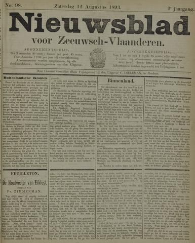 Nieuwsblad voor Zeeuwsch-Vlaanderen 1893-08-12