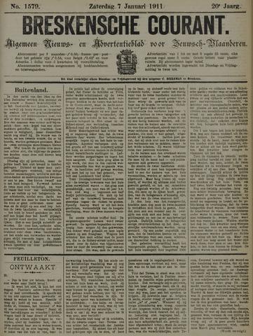 Breskensche Courant 1911-01-07