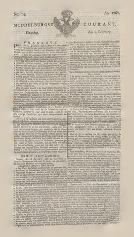 Middelburgsche Courant 1762-02-02