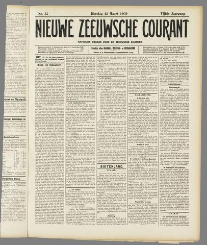 Nieuwe Zeeuwsche Courant 1909-03-23