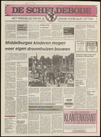 Scheldebode 1985-06-27