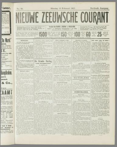 Nieuwe Zeeuwsche Courant 1917-02-13