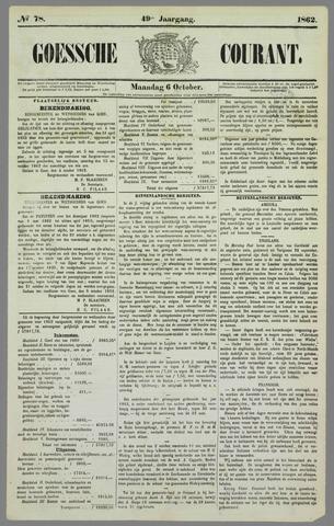 Goessche Courant 1862-10-06