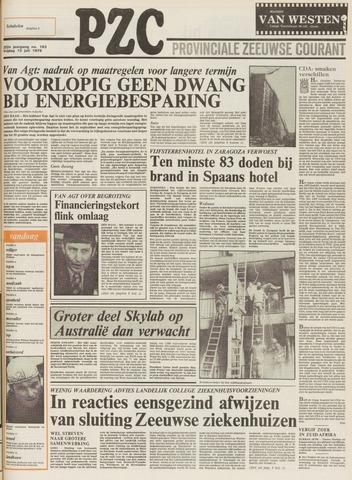 Provinciale Zeeuwse Courant 1979-07-13