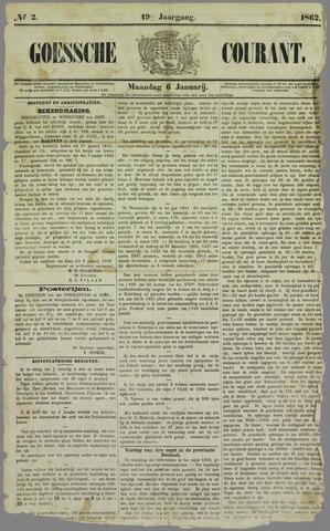 Goessche Courant 1862-01-06