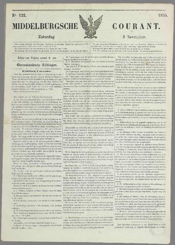 Middelburgsche Courant 1855-11-03