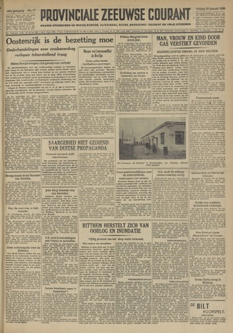 Provinciale Zeeuwse Courant 1950-01-20