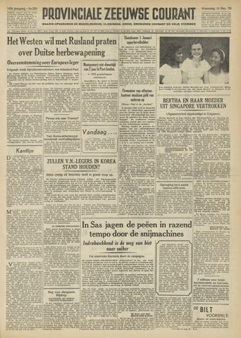 Provinciale Zeeuwse Courant 1950-12-13