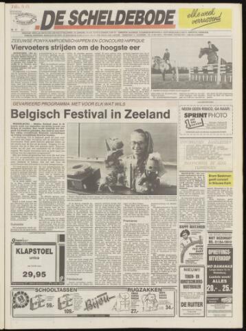 Scheldebode 1990-08-09