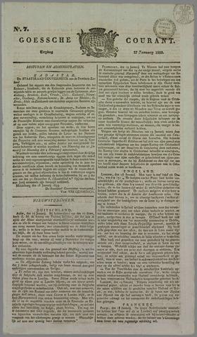 Goessche Courant 1833-01-27