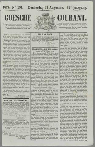 Goessche Courant 1874-08-27