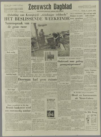 Zeeuwsch Dagblad 1959-09-26