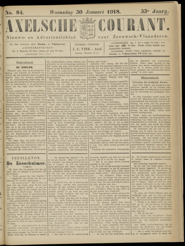 Axelsche Courant 1918-01-30