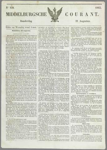 Middelburgsche Courant 1865-08-31