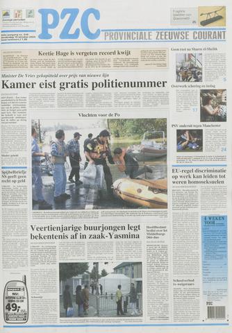 Provinciale Zeeuwse Courant 2000-10-19
