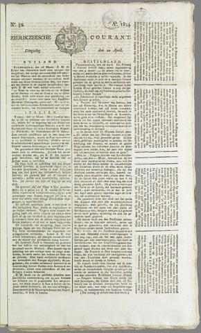 Zierikzeesche Courant 1824-04-20